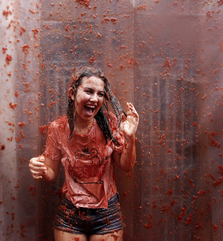 Image: Tomatina Festival in Bunol