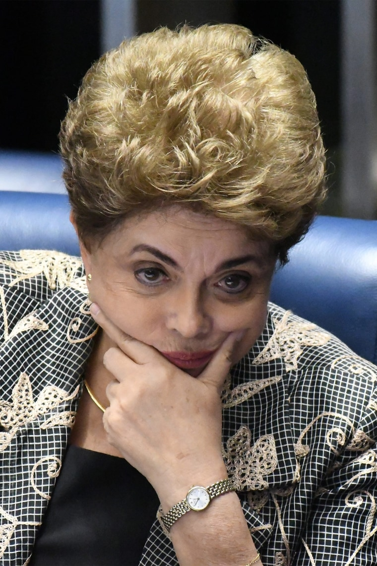 Image: Rousseff removed from presidency