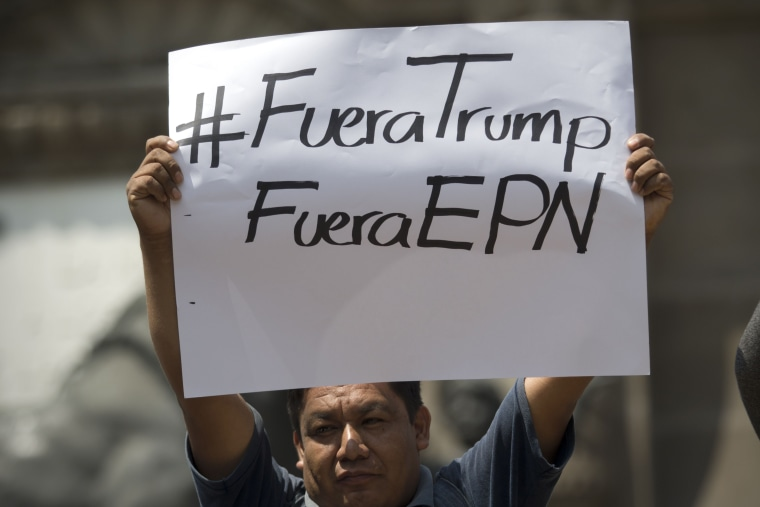 Image: MEXICO-US-TRUMP