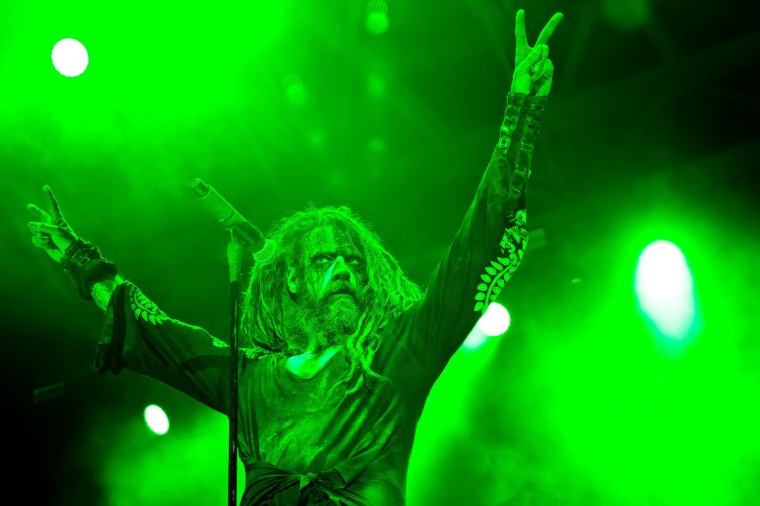 Image: Rob Zombie in concert