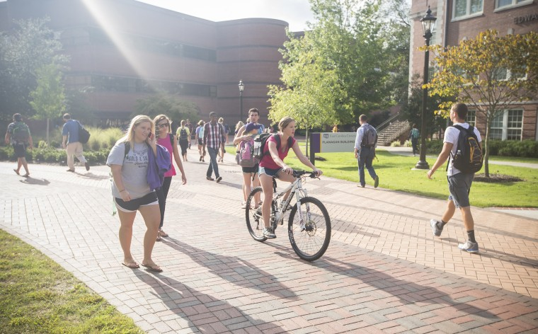 East Carolina University is teaching students mindfulness and other stress-relieving techniques after a spike among those seeking crisis counseling on campus.
