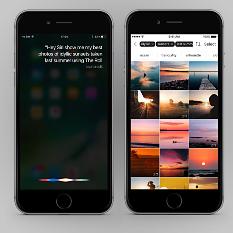 """In iOS 10, Siri can handle requests such as, """"show me pictures of Drake at the MTV music awards,"""" in the Looklive app."""