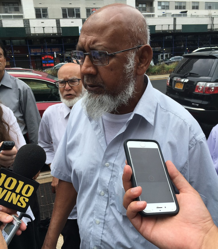 """Mosque president Asav Uddin, where Maulana Akonjee served as imam, denied allegations from Morel's attorney that a possible motive for the double shooting was that Akonjee wasn't liked. """"He's a very honest guy,"""" Uddin said."""
