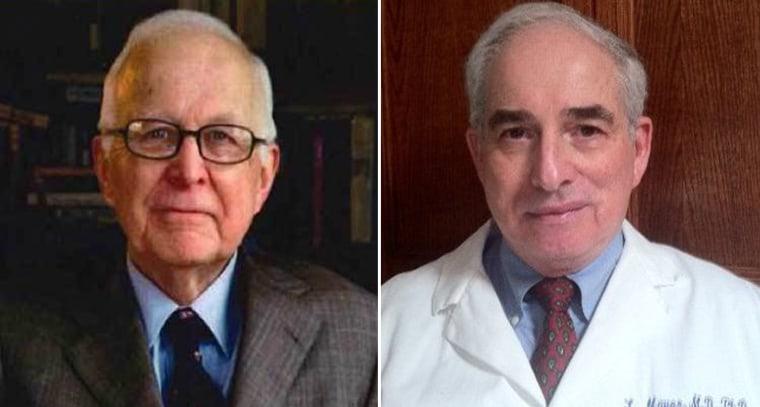 Paul R. McHugh, M.D (left) and Lawrence S. Mayer, M.B., M.S., Ph.D. (right)
