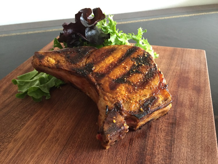 Easy Grilled Pork Chops -- Pibil Style by Jacqueline Kleis