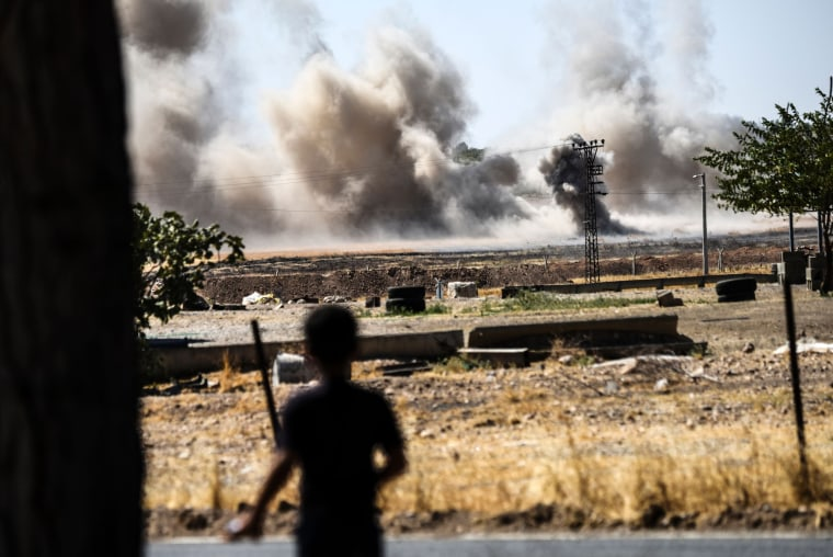 Image: TOPSHOT-TURKEY-SYRIA-CONFLICT
