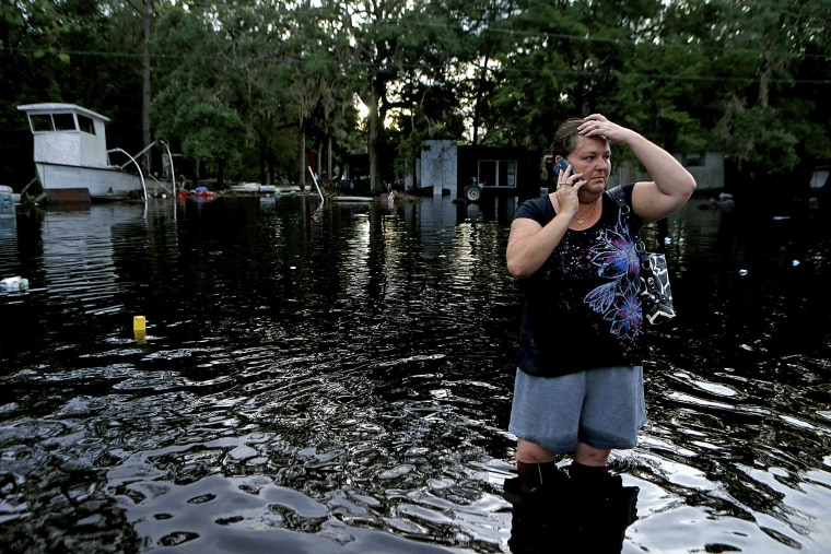 Image: Hurricane Hermine Mkaes Landfall in Florida