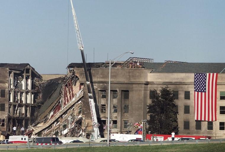 Image: 9/11 attack on Pentagon