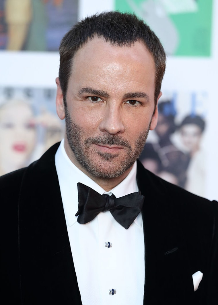 Tom Ford at the Gala to celebrate the Vogue 100 Festival Kensington Gardens on May 23, 2016 in London, England.