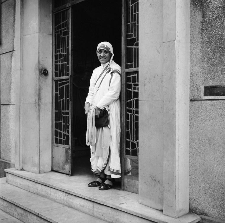 Mother Teresa In Paris In 1965