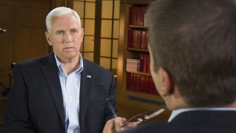 Pence at OSU