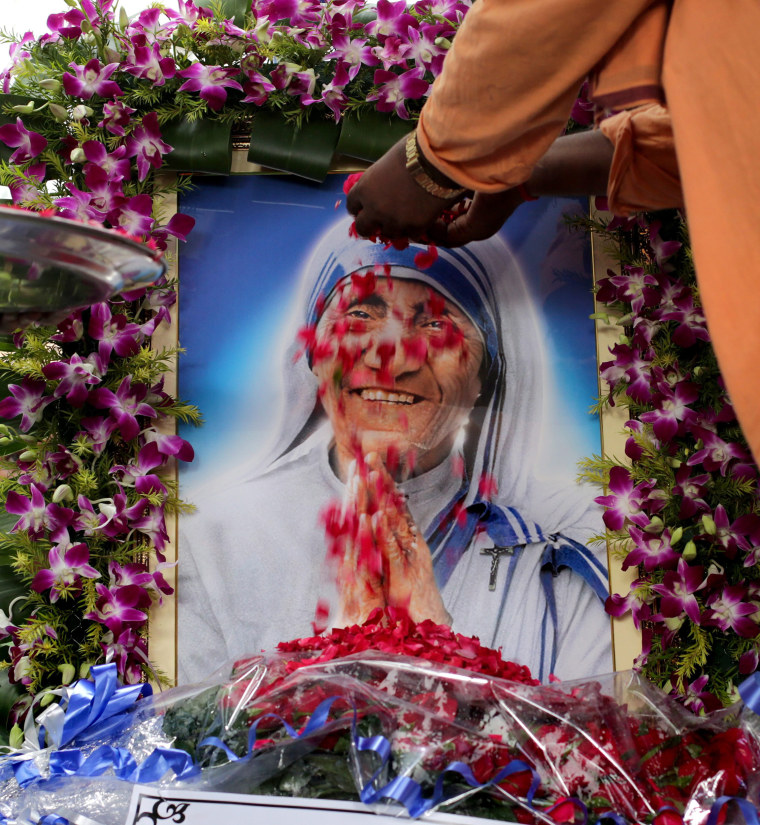 Image: Canonization of Mother Teresa