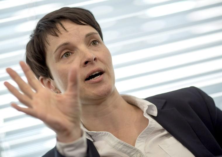 Image: Alternative for Germany's Frauke Petry