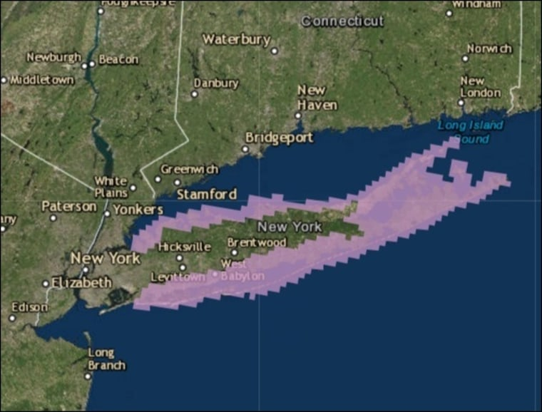 IMAGE: Hermine storm surge projection