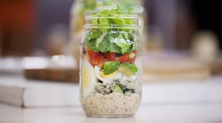 Joy Bauer's lighter Cobb salad