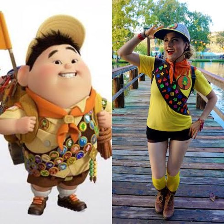 russel from up halloween costume