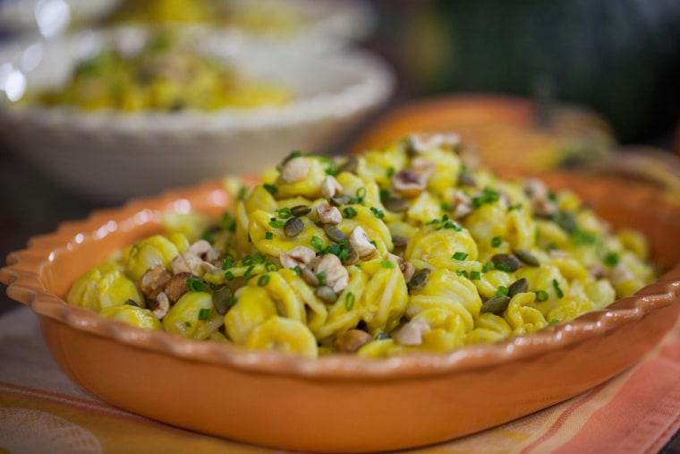 Fall food hacks: Butternut squash pasta