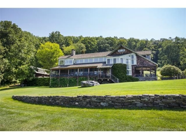 Michael J. Fox's home in Connecticut