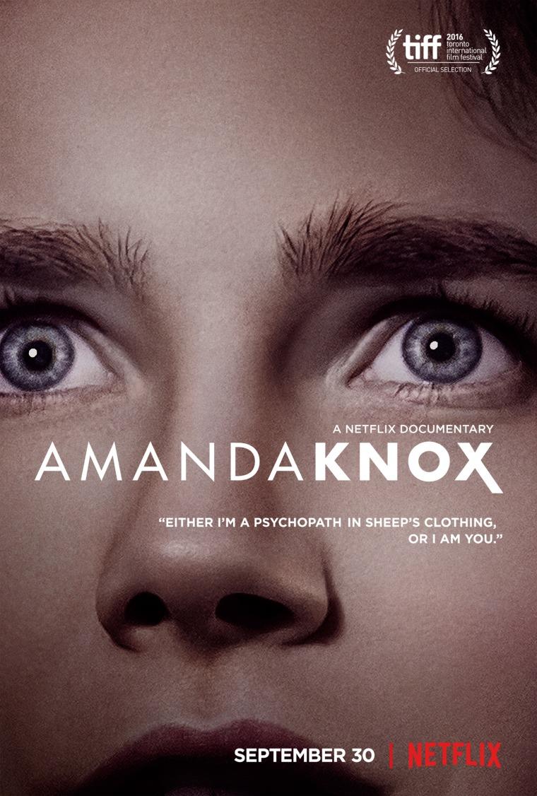 amanda knox netflix movie poster