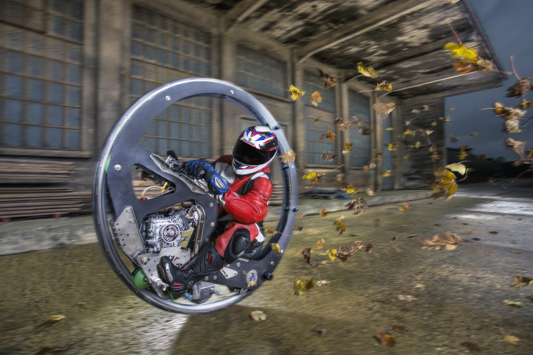 Kevin Scott - Fastest Monowheel