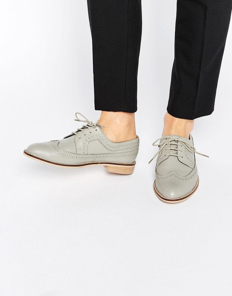 Grey fall shoes
