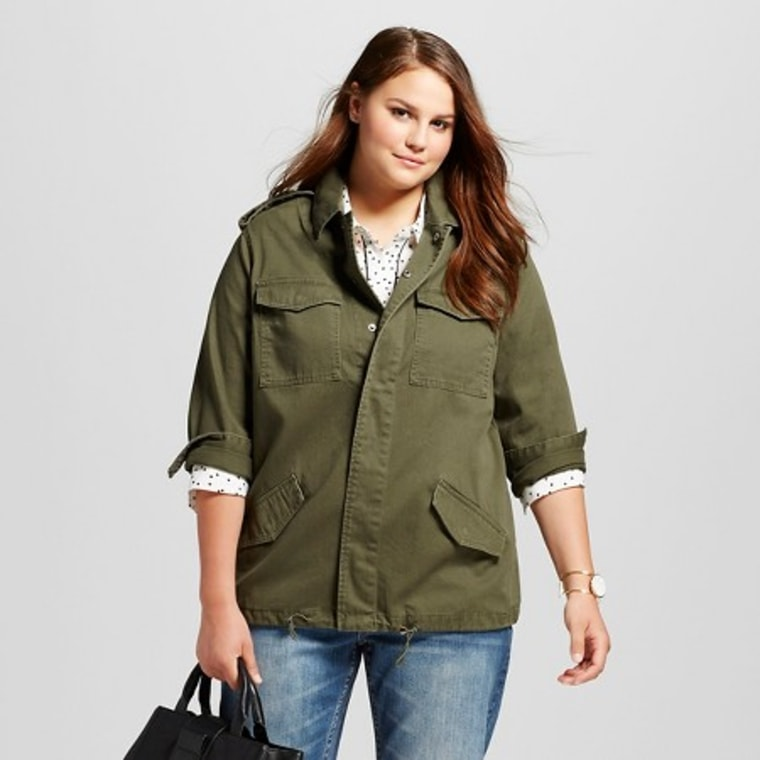 Green fall jacket