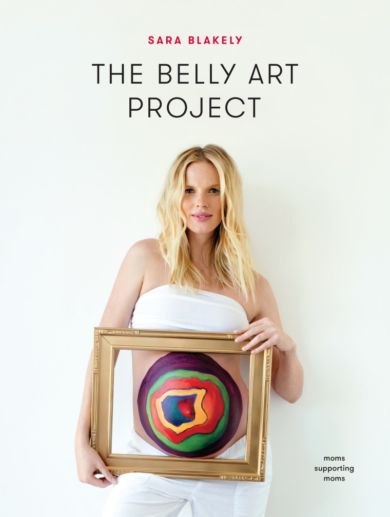 """Sara Blakley's book """"The Belly Art Project"""""""