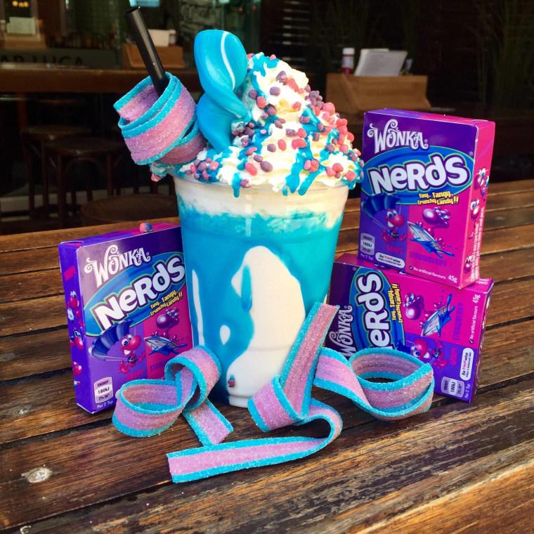 Willy Wonka Augustus Bloop Milkshake