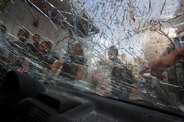 Image: PALESTINIAN-ISRAEL-CONFLICT-JERUSALEM