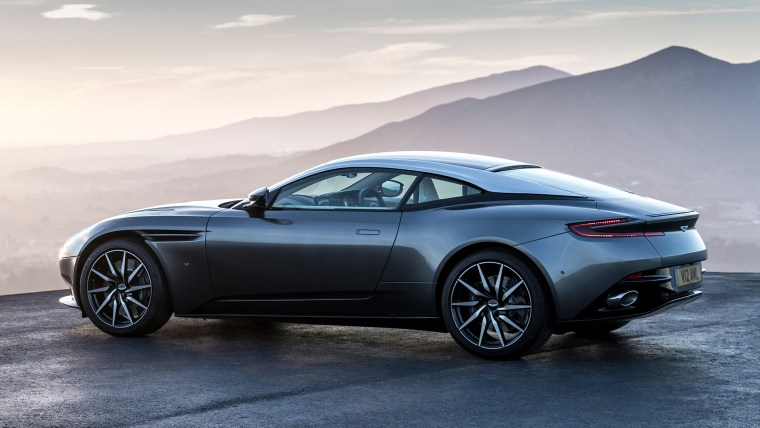 "Aston Martin's ""fearless design philosophy"" is shown in the DB11, which goes from 0-60 in just 3.9 seconds."