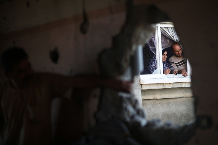Image: TOPSHOT-PALESTINIAN-ISRAEL-CONFLICT-GAZA