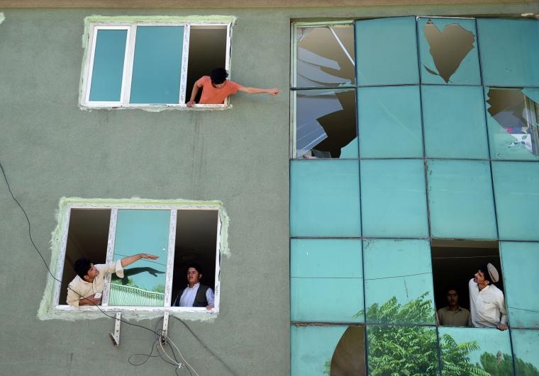 Image: TOPSHOT-AFGHANISTAN-UNREST-ATTACK
