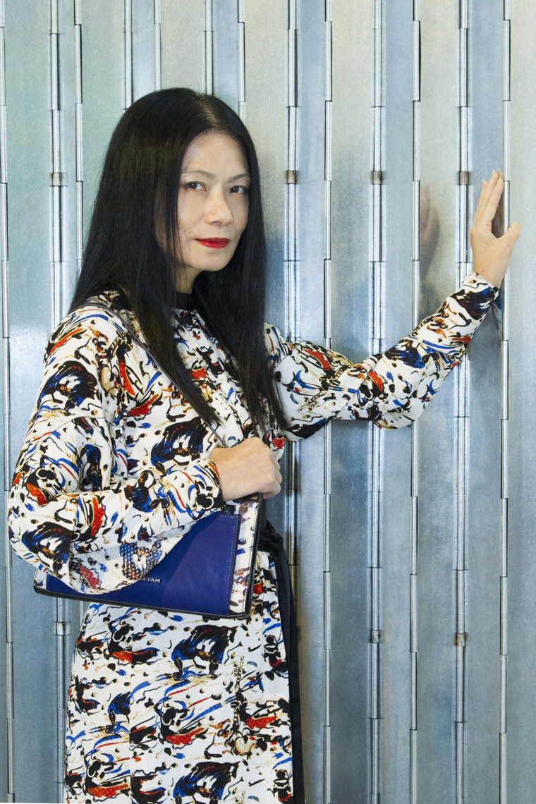 Vivienne Tam, who will be showing at New York Fashion Week, has focused on East-Meets-West designs since the beginning of her career.