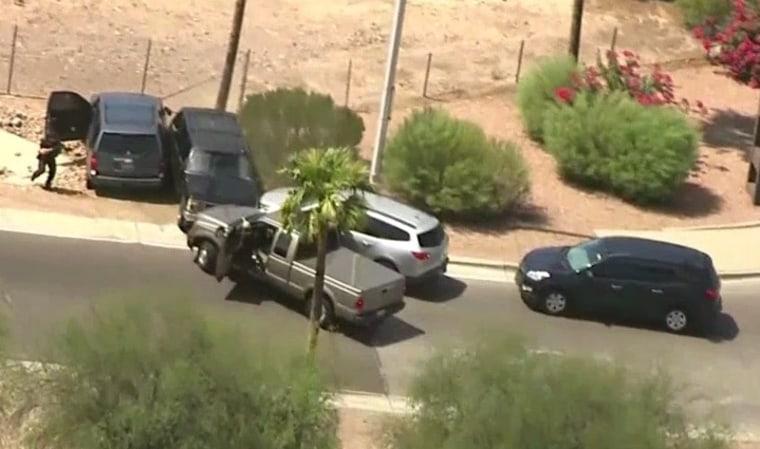 IMAGE: Arizona police pursuit