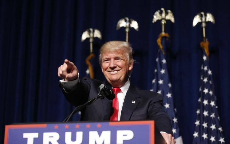 Image: Donald Trump Campaigns In North Carolina