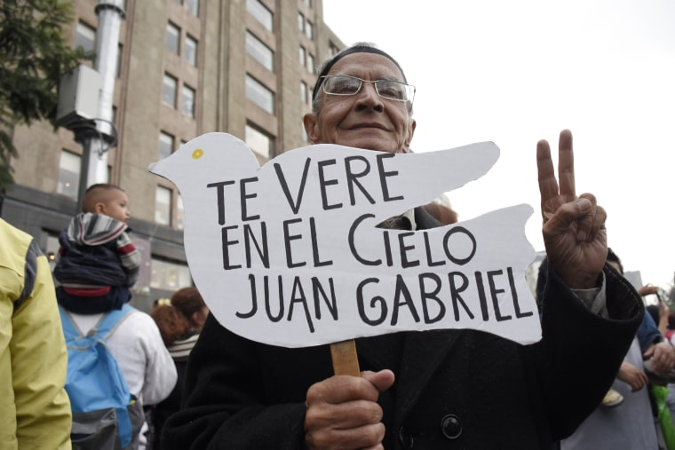 Image: Juan Gabriel funeral, Mexico City, Mexico - 05 Sep 2016