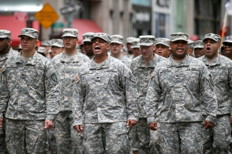 Veterans Day Parade in New York City