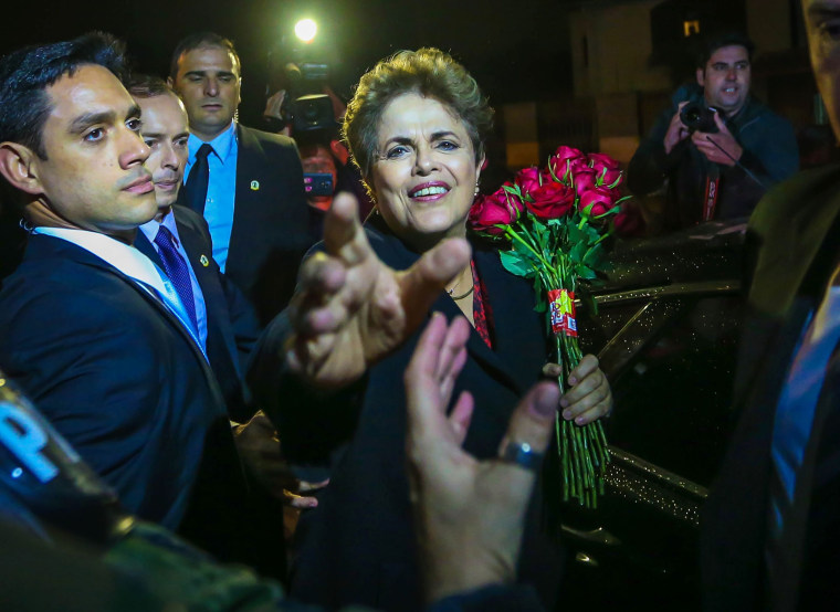 Image: BRAZIL-CRISIS-ROUSSEFF