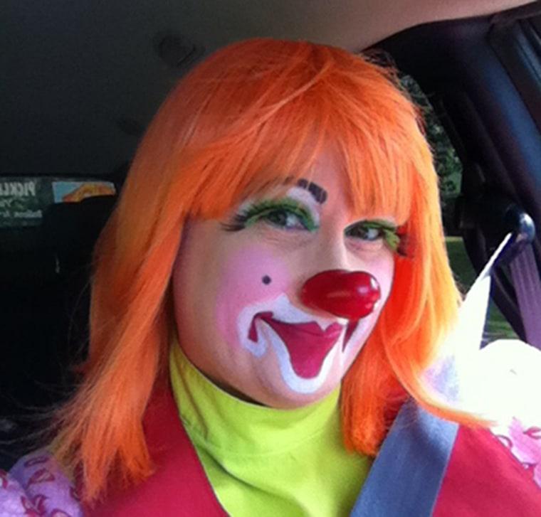 Barbara Jean Emery, aka Pickles Da Clown, says creepy impostors are making it hard for professionals.