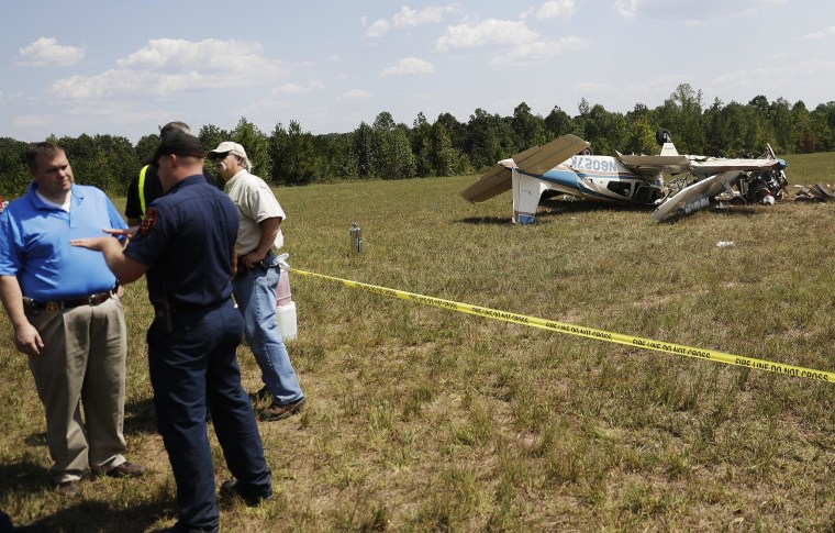 Three Dead After Two Small Planes Collide at Georgia Airport