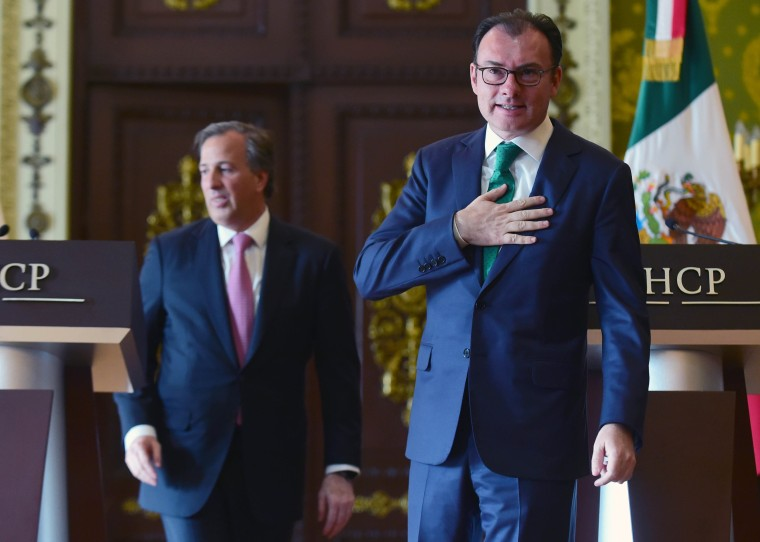 Image: MEXICO-FINANCE-ECONOMY-VIDEGARAY