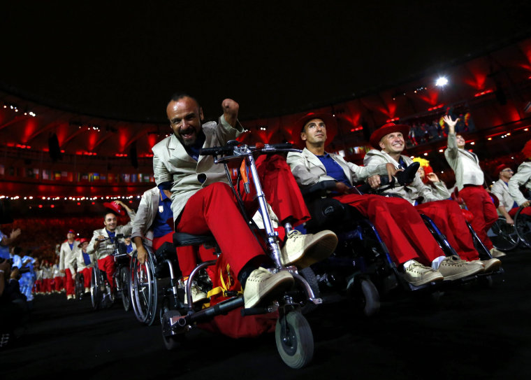 Image: Opening Ceremony of the Rio 2016 Paralympic Games