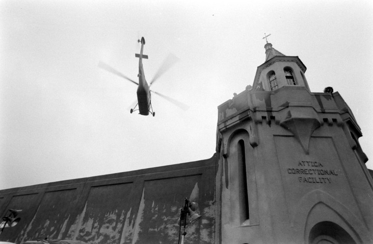 Helicopter At Attica