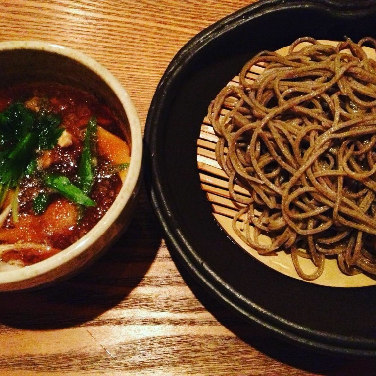 Kamo seiro soba by Seattle-based chef Mutsuko Soma, who hosts the Kamonegi soba-focused pop up.