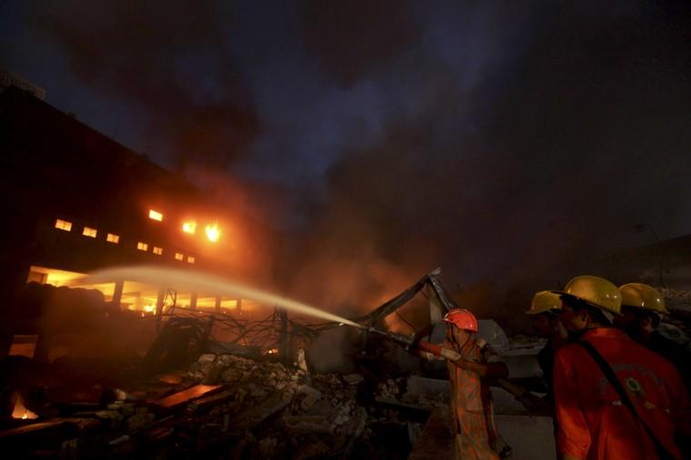 Image: BANGLADESH-FIRE-LABOUR