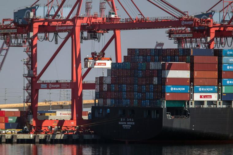 Image: US-SKOREA-SHIPPING-HANJIN