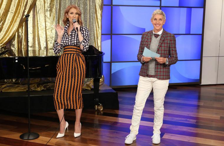 Celine Dion on The Ellen DeGeneres Show