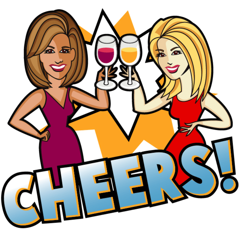 Hoda Kotb and Kathie Lee Sticker Pack