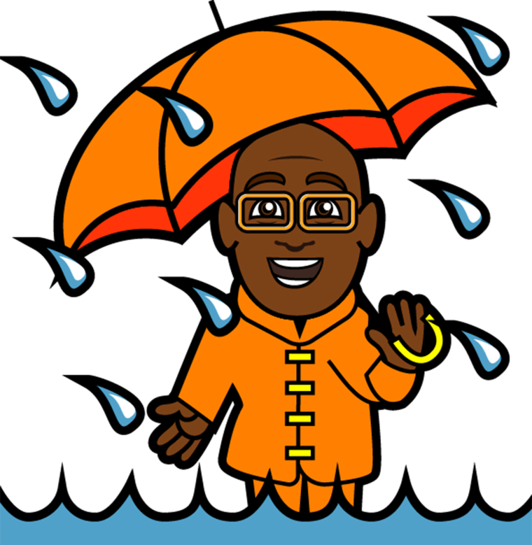 Al Roker Sticker Pack