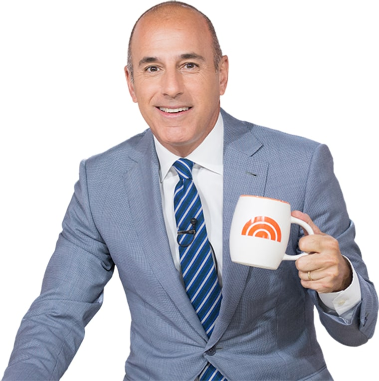 Matt Lauer Sticker Pack